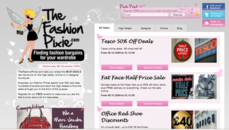 TheFashionPixie Screen shot