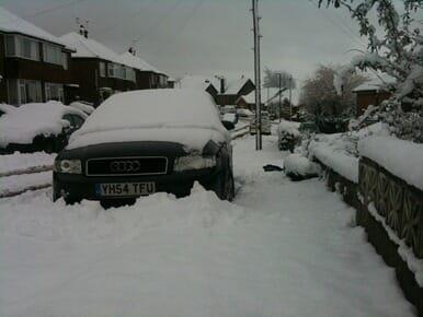 My car yesterday