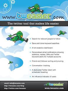 Tweasier Feature Set
