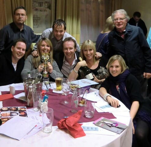 PR Companies in Leeds battle it out with local journalists at charity pub quiz
