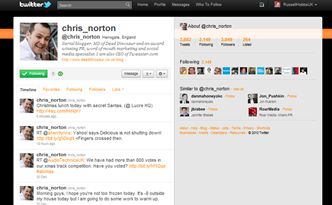 Chris Norton Twitter
