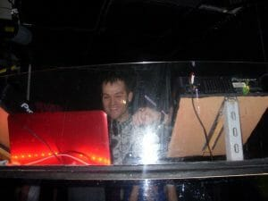 Chris Norton DJing at Moko Lounge Harrogate