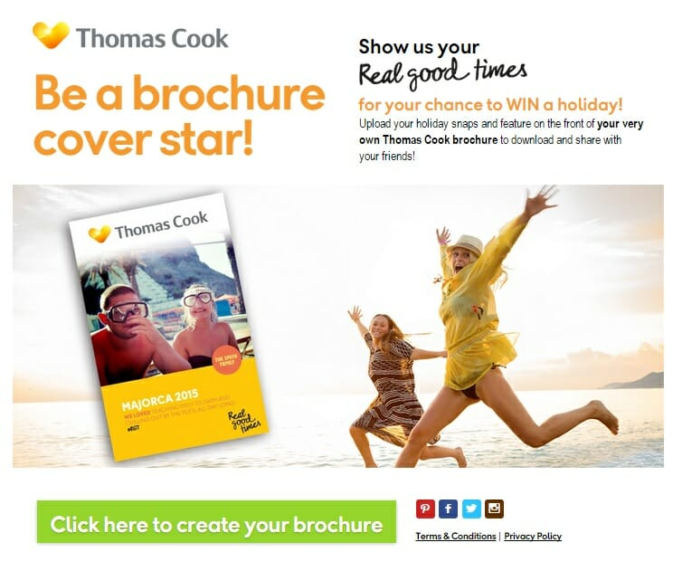 The power of personalisation and Thomas Cook's Brochure Star