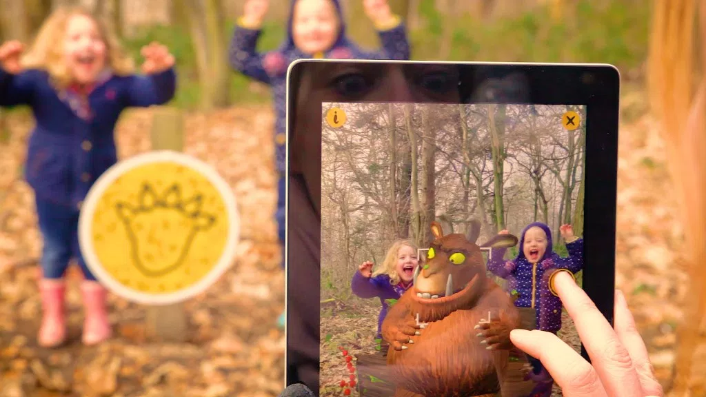 The making of the new augmented Gruffalo Spotter app – Great for fun with the kids